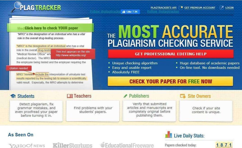 11 Best Free Plagiarism Tools In 2020 You Need to Know